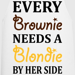 Every Brownie Needs A Blondie Best Friend T-Shirts - Cooking Apron
