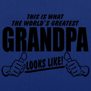 WORLDS GREATEST GRANDPA LOOKS LIKE T-Shirts - Tote Bag