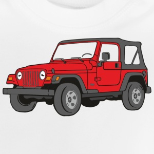 Jeep Wrangler 4WD 4x4 Off-Road T-Shirts - Baby T-Shirt