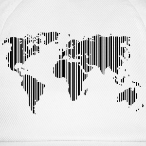 World as a barcode T-Shirts - Baseball Cap