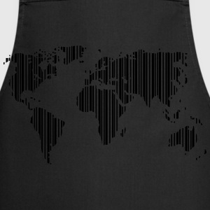 World as a barcode T-Shirts - Cooking Apron