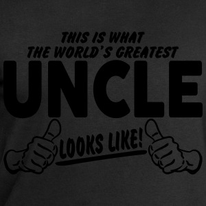 Worlds Greatest Uncle Looks Like T-Shirts - Men's Sweatshirt by Stanley & Stella