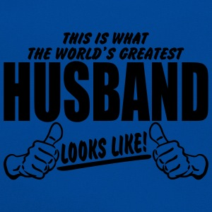 Worlds Greatest Husband Looks Like T-Shirts - Retro Bag