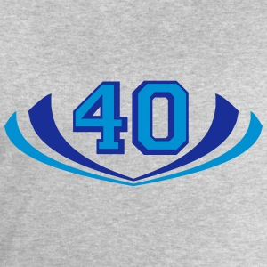 40 forty logo T-Shirts - Men's Sweatshirt by Stanley & Stella
