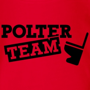 Polter Team T-Shirts - Baby Bio-Kurzarm-Body