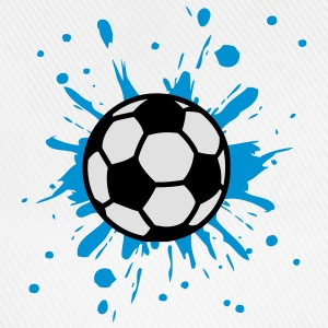 Football, Splash, Soccer, Splatter,  T-shirts - Basebollkeps