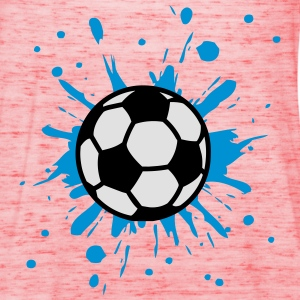Football, Splash, Soccer, Splatter,  T-shirts - Dame tanktop fra Bella
