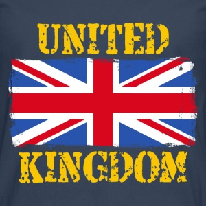 United Kingdom grunge flag Sweat-shirts - T-shirt manches longues Premium Homme
