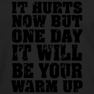 It Hurts Now... T-shirts - Mannen Premium shirt met lange mouwen