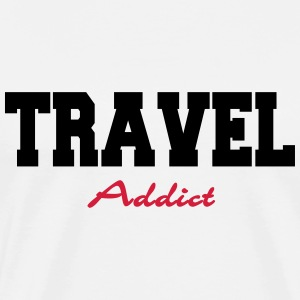 Travel Addict T-Shirts - Men's Premium T-Shirt