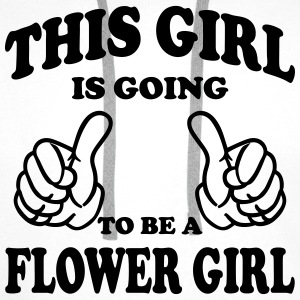 This Girl is going to be a Flower Girl Tops - Men's Premium Hoodie