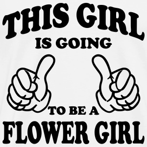 This Girl is going to be a Flower Girl Tops - Men's Premium T-Shirt