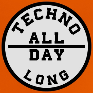 TECHNO ALL DAY LONG T-Shirts - Baby T-Shirt