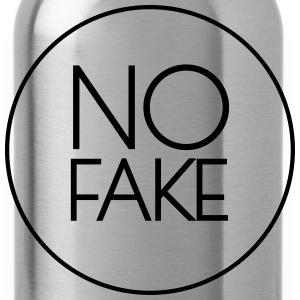No Fake Tops - Trinkflasche