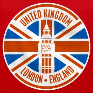 united kingdom - london T-Shirts - Men's Premium Tank Top
