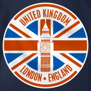 united kingdom - london Tee shirts - Body bébé bio manches courtes