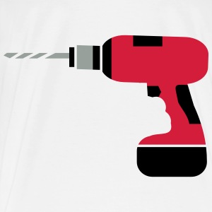 A cordless drill  Other - Men's Premium T-Shirt