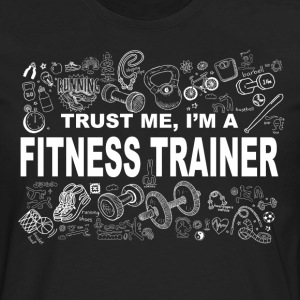 Trust me fitness trainer Tee shirts - T-shirt manches longues Premium Homme