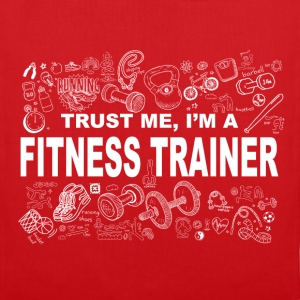 Trust me fitness trainer Tee shirts - Tote Bag