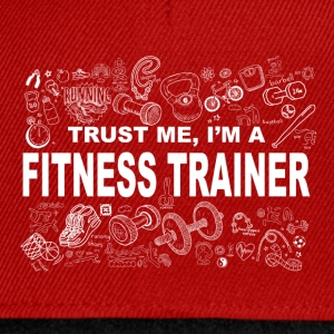 Trust me fitness trainer Tee shirts - Casquette snapback
