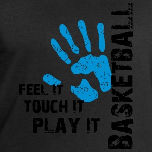 Basketball feel it touch it play it T-Shirts - Männer Sweatshirt von Stanley & Stella