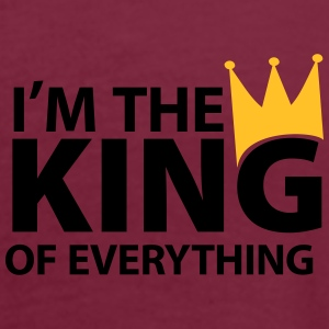 I'm the king of everything Poloshirts - Frauen Oversize T-Shirt