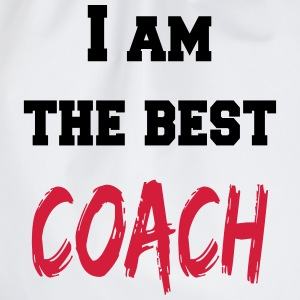 I am the best coach Tops - Drawstring Bag