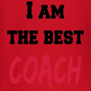 I am the best coach T-shirts - Langærmet babyshirt