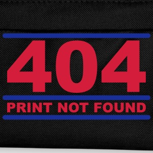 404 - Print not Found T-skjorter - Ryggsekk for barn