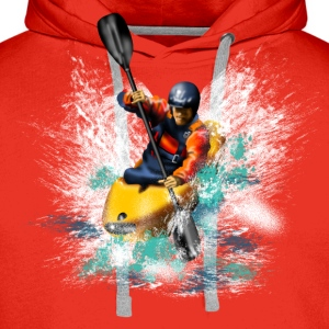 kayaking T-Shirts - Men's Premium Hoodie