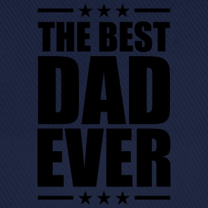 Best Dad Ever T-skjorter - Baseballcap