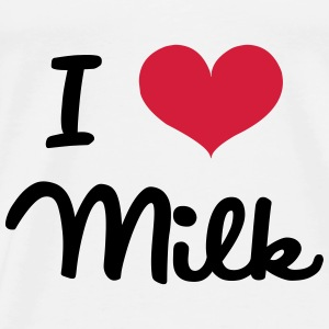 I Love Milk Sweats - T-shirt Premium Homme