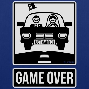 Just Married – Game Over (2C) T-Shirts - Tote Bag