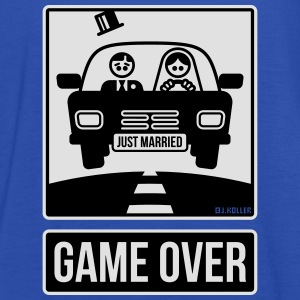 Just Married – Game Over (2C) T-Shirts - Women's Tank Top by Bella