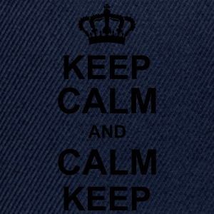 keep_calm_and_calm_keep_g1 T-Shirts - Snapback Cap