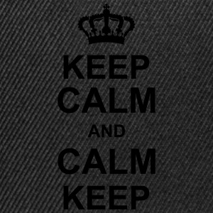 keep_calm_and_calm_keep_g1 Camisetas - Gorra Snapback
