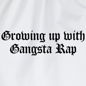 Growing up with Gangsta Rap T-skjorter - Gymbag