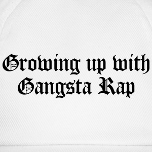 Growing up with Gangsta Rap Koszulki - Czapka z daszkiem