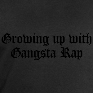 Growing up with Gangsta Rap T-Shirts - Men's Sweatshirt by Stanley & Stella