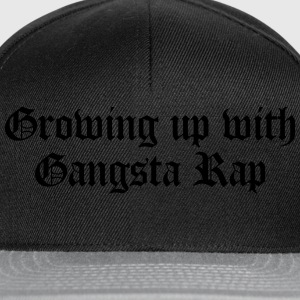 Growing up with Gangsta Rap T-shirts - Snapback Cap