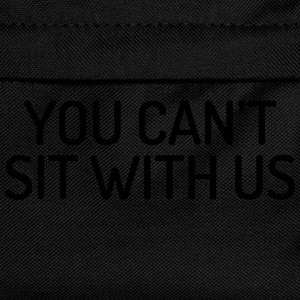 You can't sit with us Kepsar & mössor - Ryggsäck för barn
