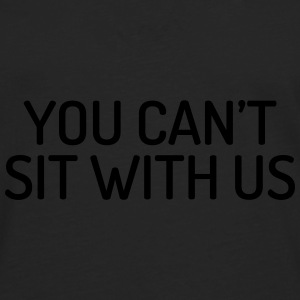 You can't sit with us Caps & luer - Premium langermet T-skjorte for menn