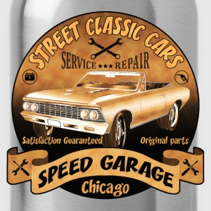 vintage us street car 02 Hoodies & Sweatshirts - Water Bottle