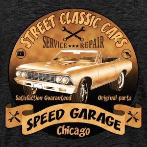 vintage us street car 02 Hoodies & Sweatshirts - Men's Premium T-Shirt