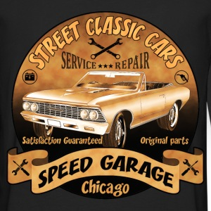 vintage us street car 02 Hoodies & Sweatshirts - Men's Premium Longsleeve Shirt
