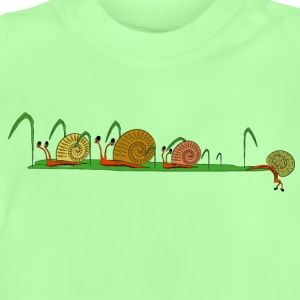 snails in the garden Shirts - Baby T-shirt