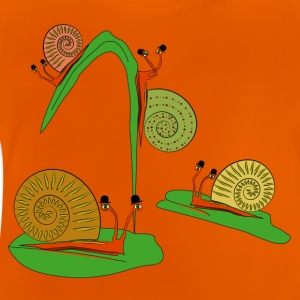 escargot Tee shirts - T-shirt Bébé
