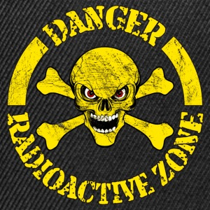 radioactive zone 02 Tee shirts - Casquette snapback