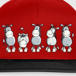 Drôle d'âne - cheval - animaux Tee shirts - Casquette snapback