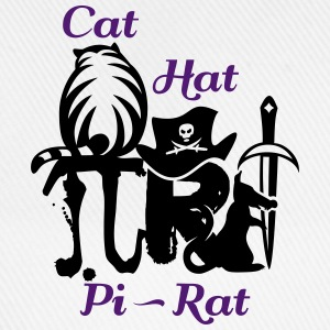 Pi rat (2c) Shirts - Baseball Cap